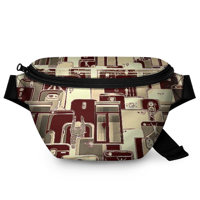 Printio Поясная сумка 3D Этажи.