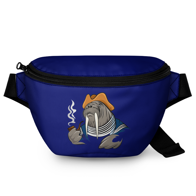 Printio Поясная сумка 3D Морской волк