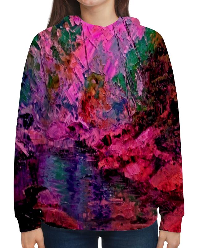 Printio Толстовка с полной запечаткой Краски лета