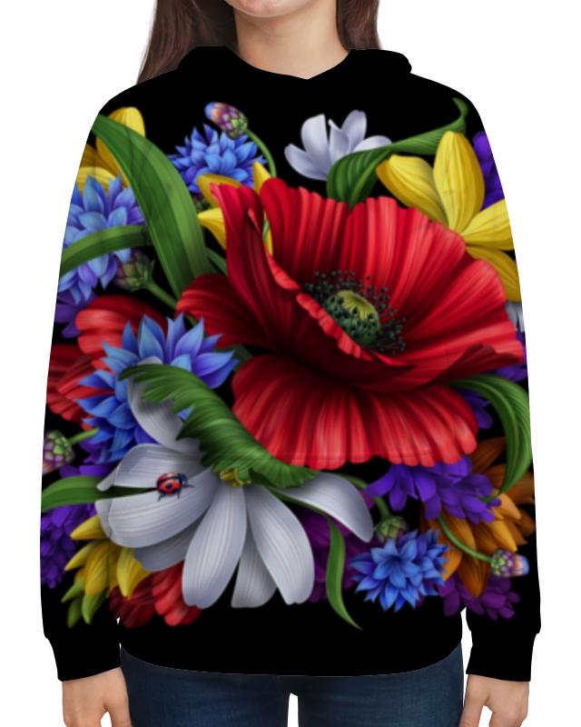 Фото - Printio Толстовка с полной запечаткой Композиция цветов толстовка с полной запечаткой printio поле цветов