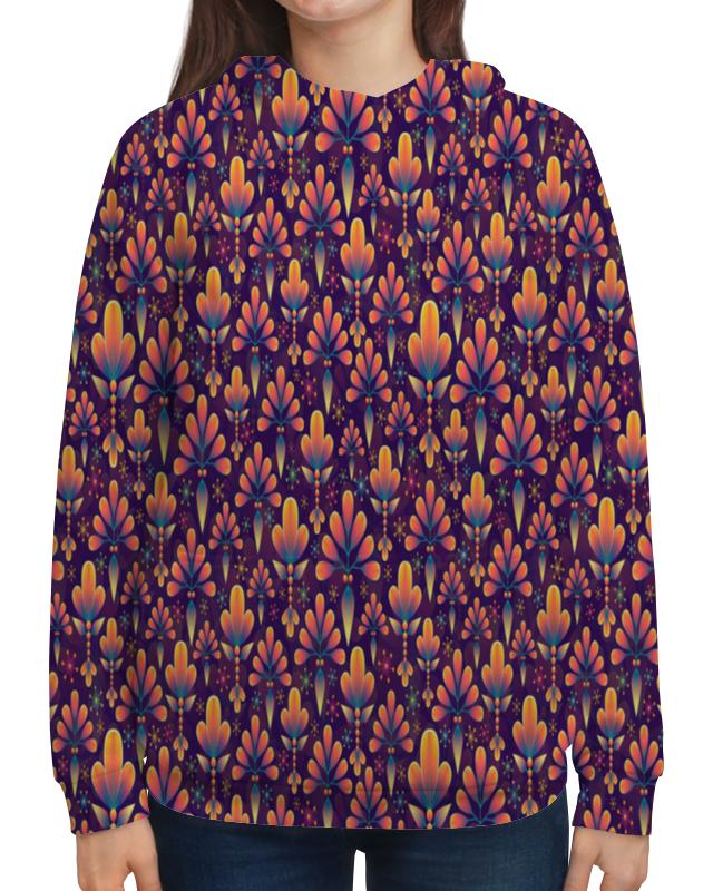 Фото - Printio Толстовка с полной запечаткой Лепестки цветов толстовка с полной запечаткой printio поле цветов