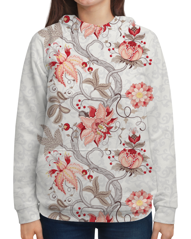 Фото - Printio Толстовка с полной запечаткой Цветы толстовка с полной запечаткой printio поле цветов