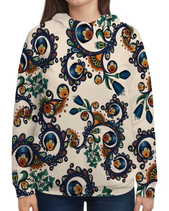 Фото - Printio Толстовка с полной запечаткой Плетение цветов толстовка с полной запечаткой printio поле цветов