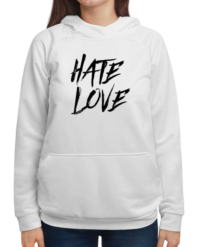 Printio Толстовка с полной запечаткой Рэпер face hate love