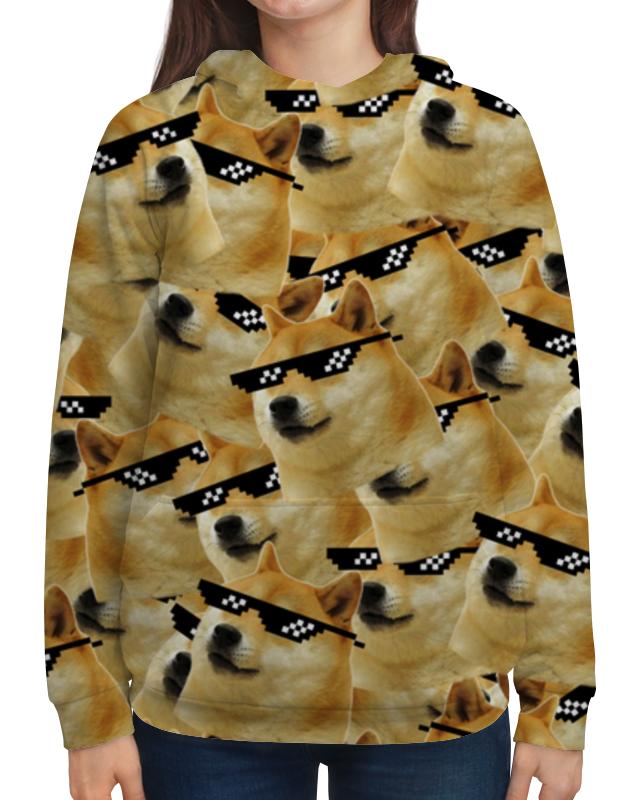 Фото - Printio Толстовка с полной запечаткой Doge meme, deal with it очки солнцезащитные очки pixel crew deal with it