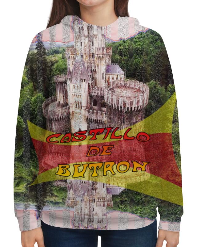 Printio Толстовка с полной запечаткой Замки испании. замок бутрон