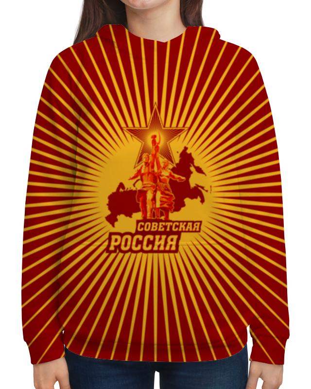 Printio Толстовка с полной запечаткой Советская россия