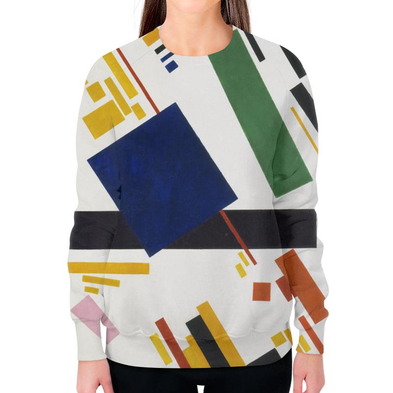 Printio Свитшот женский с полной запечаткой Супрематическая композиция (казимир малевич)