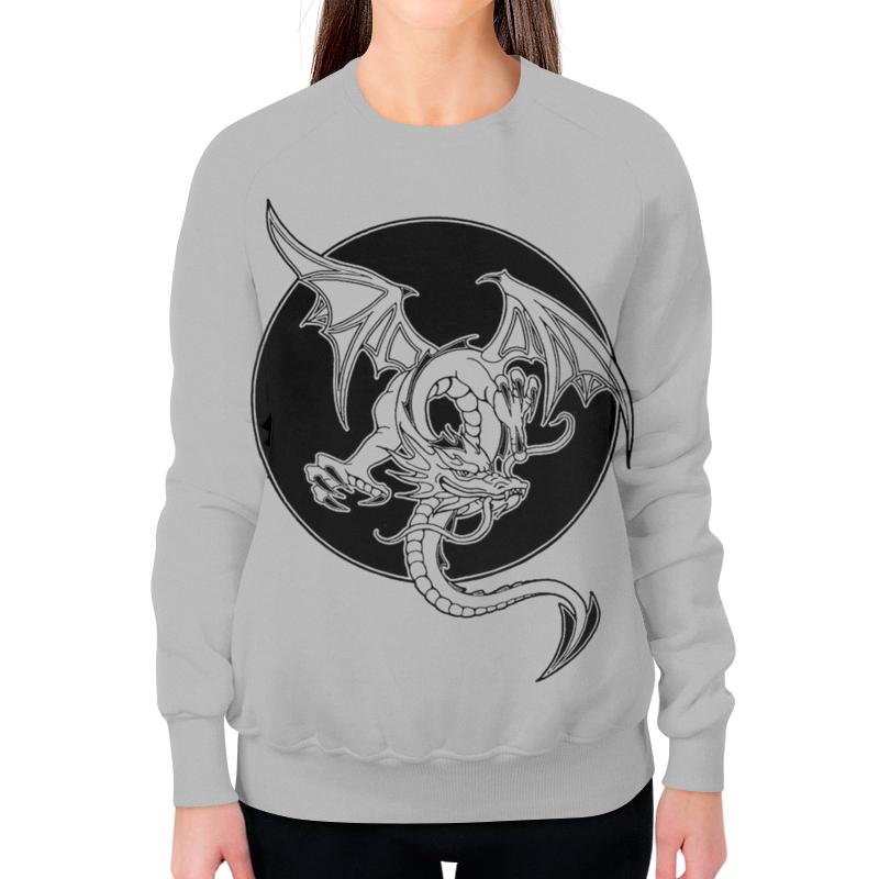 Printio Свитшот женский с полной запечаткой Дракон