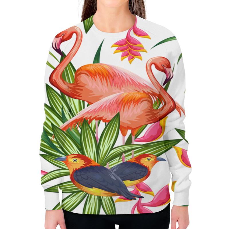 Фото - Printio Свитшот женский с полной запечаткой Птицы и цветы printio свитшот женский с полной запечаткой цветы и герб