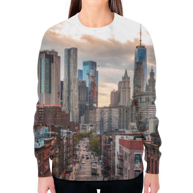 Printio Свитшот женский с полной запечаткой Город