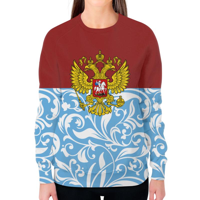 Фото - Printio Свитшот женский с полной запечаткой Цветы и герб printio свитшот женский с полной запечаткой цветы и герб