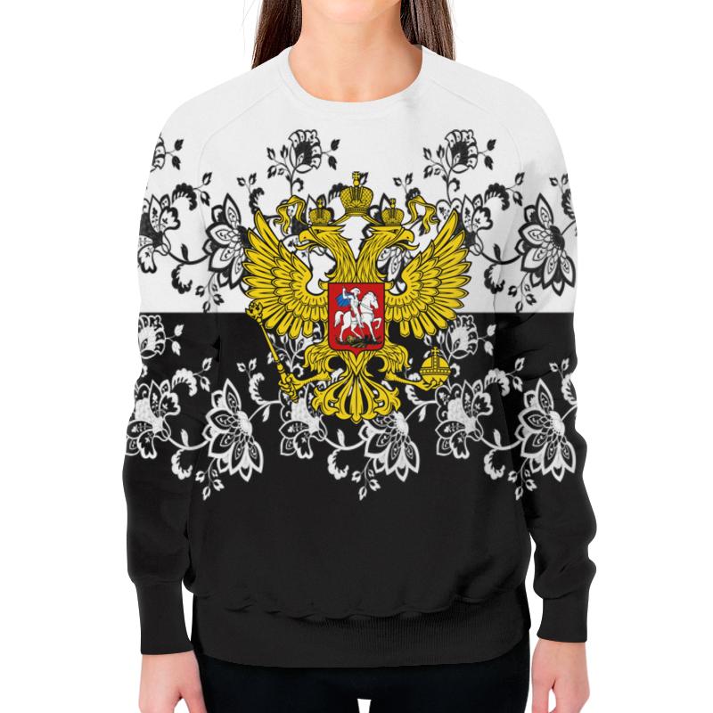 Фото - Printio Свитшот женский с полной запечаткой Узор и герб printio свитшот женский с полной запечаткой цветы и герб