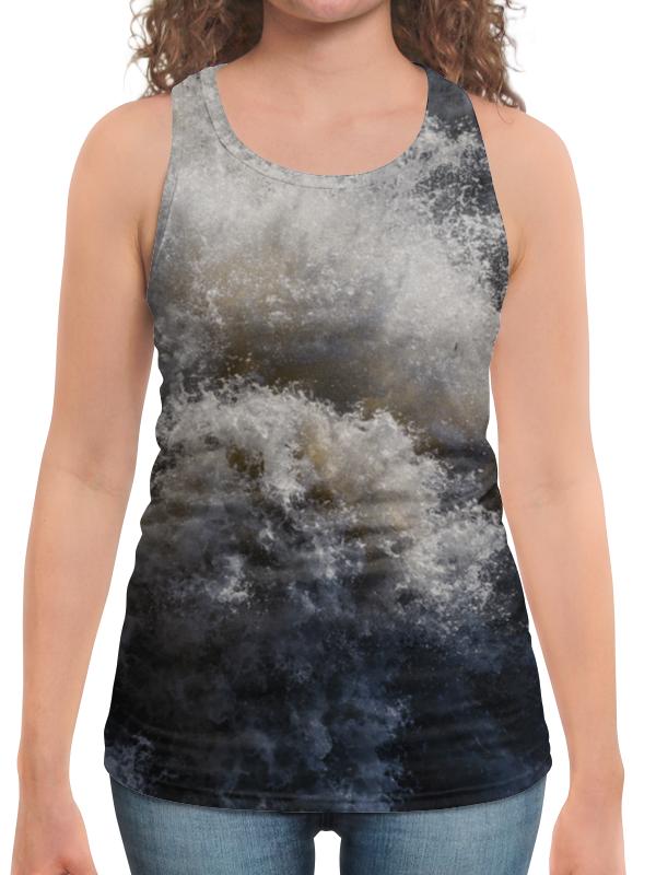 Printio Борцовка с полной запечаткой Брызги водопада мёрчисон