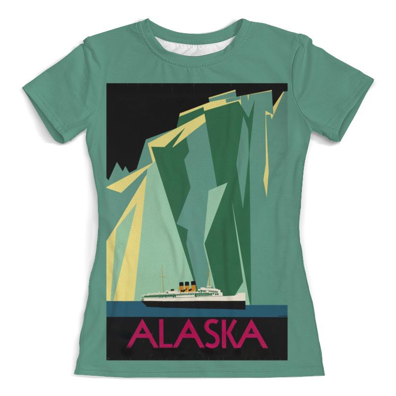 Printio Футболка с полной запечаткой (женская) Аляска