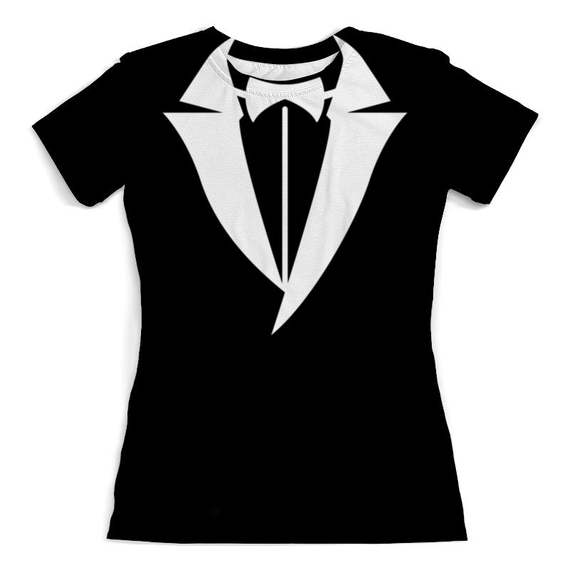 футболка с полной запечаткой для девочек printio hitman Printio Футболка с полной запечаткой (женская) Hitman