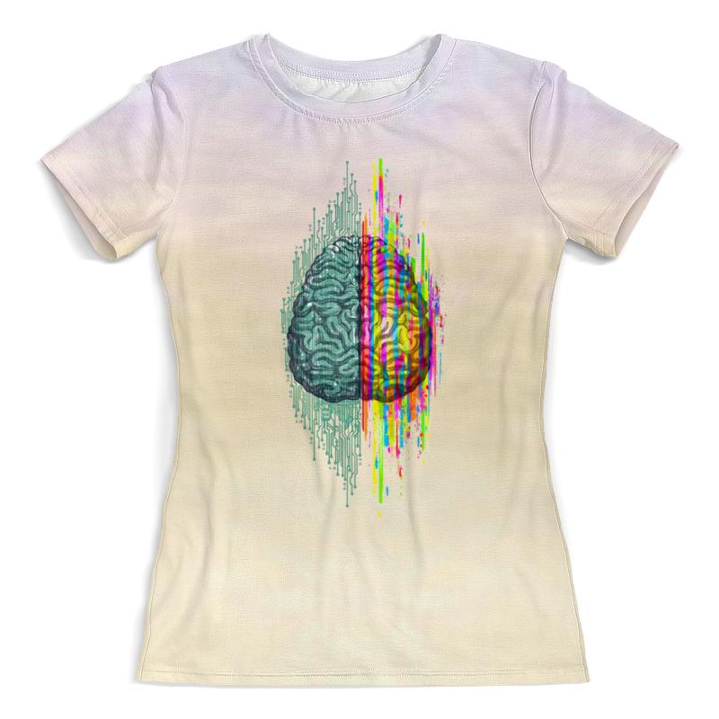 Printio Футболка с полной запечаткой (женская) Мозговой штурм