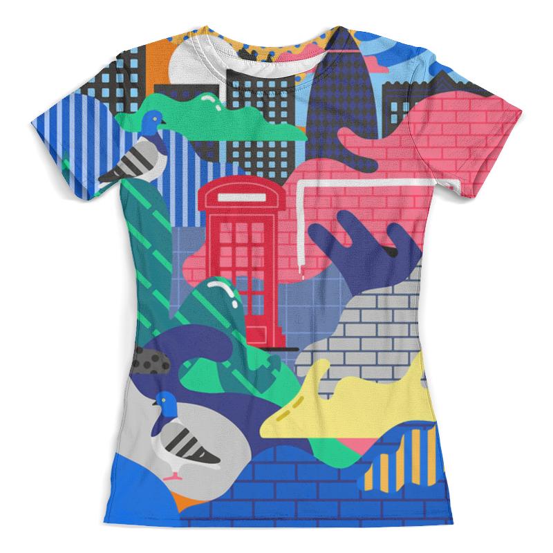 Printio Футболка с полной запечаткой (женская) Abstract сity printio футболка с полной запечаткой женская abstract mirror
