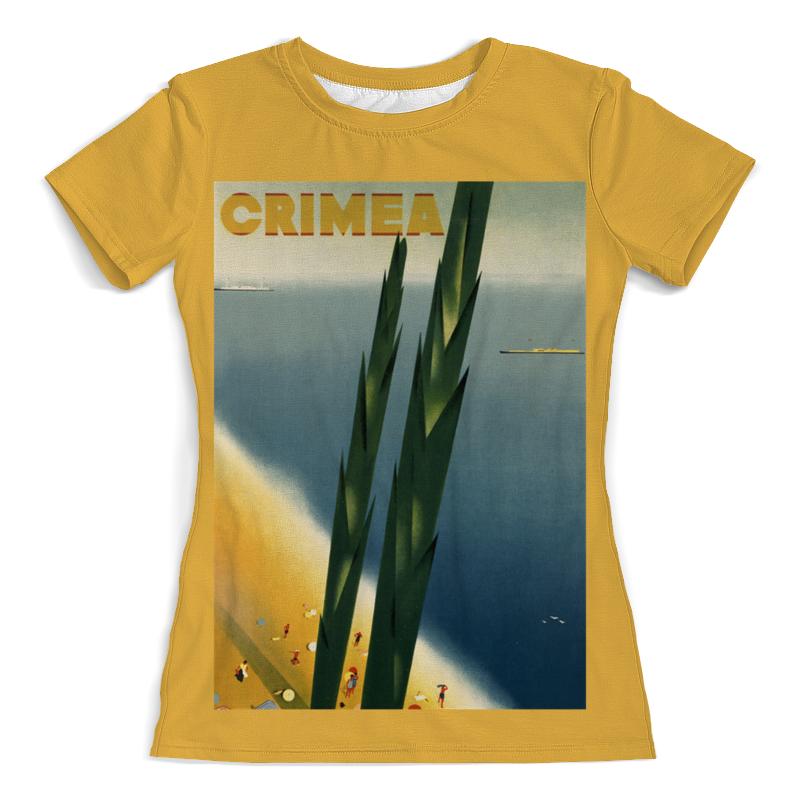 Printio Футболка с полной запечаткой (женская) Крым винтаж