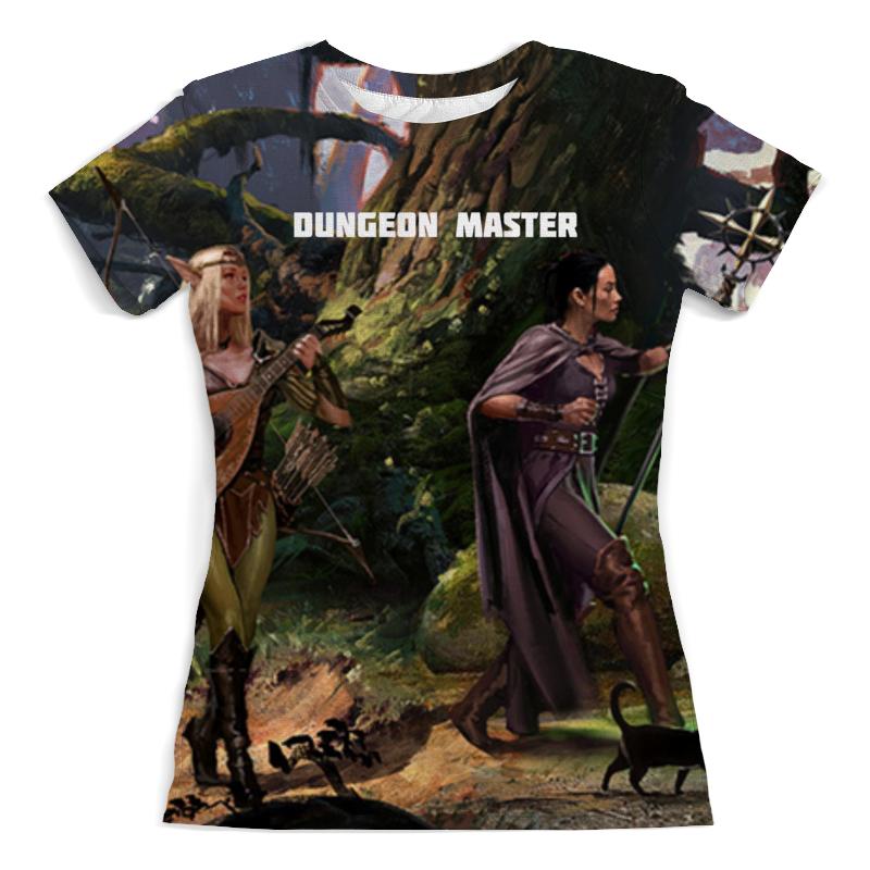 Фото - Printio Футболка с полной запечаткой (женская) Dungeon master printio футболка с полной запечаткой женская master and margarita