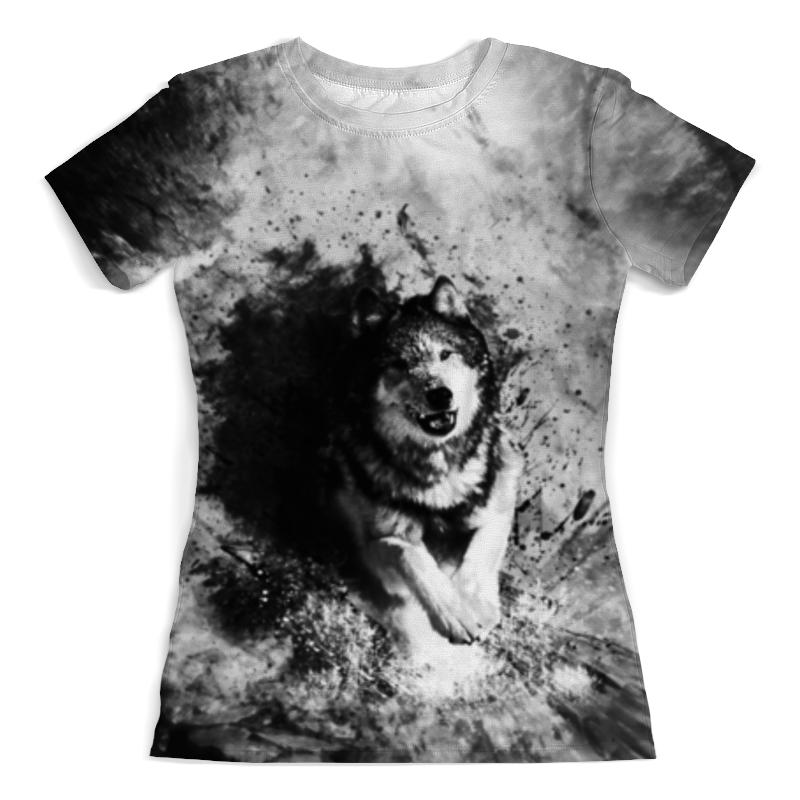 Printio Футболка с полной запечаткой (женская) Волк хищник футболка с полной запечаткой женская printio череп хищник