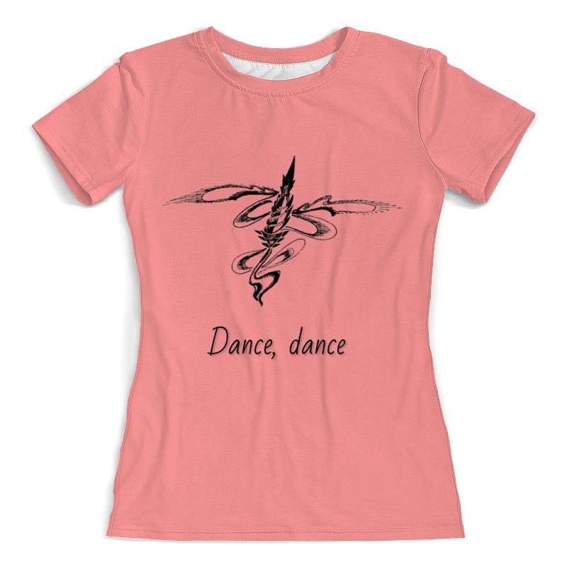 Printio Футболка с полной запечаткой (женская) Танцы с ветром