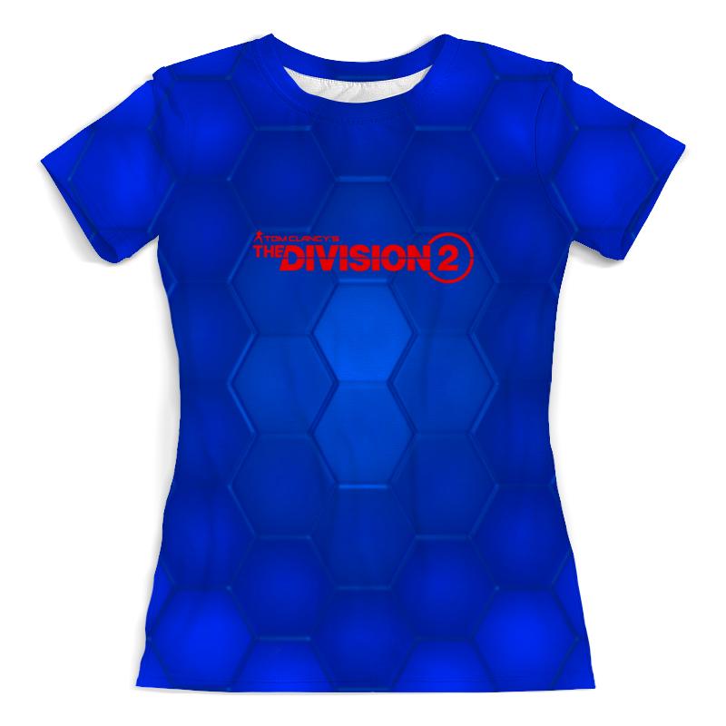 Printio Футболка с полной запечаткой (женская) Division 2