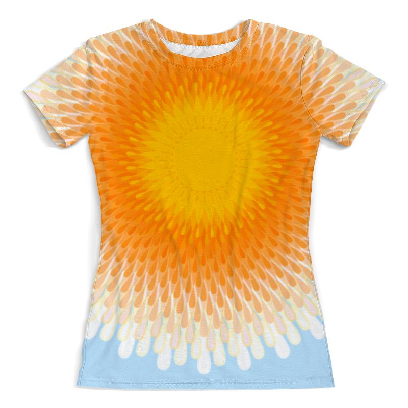 Printio Футболка с полной запечаткой (женская) Орнамент солнечный круг