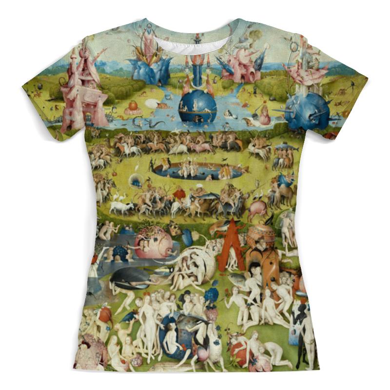 Printio Футболка с полной запечаткой (женская) Сад земных наслаждений printio леггинсы сад земных наслаждений