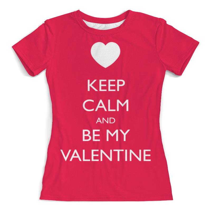 Фото - Printio Футболка с полной запечаткой (женская) Keep calm printio футболка с полной запечаткой женская keep calm and zzz funny