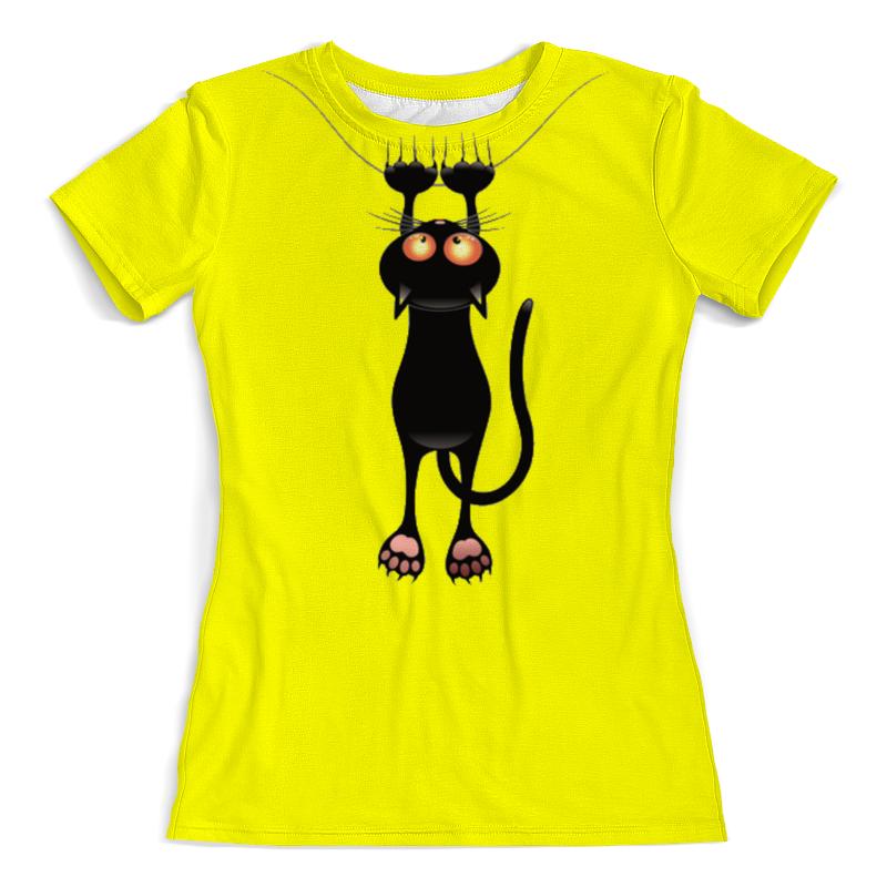 Фото - Printio Футболка с полной запечаткой (женская) Кошка printio футболка с полной запечаткой женская девушка кошка
