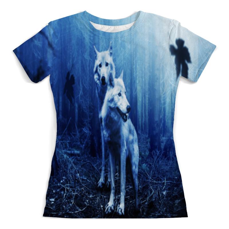Printio Футболка с полной запечаткой (женская) 2 волка