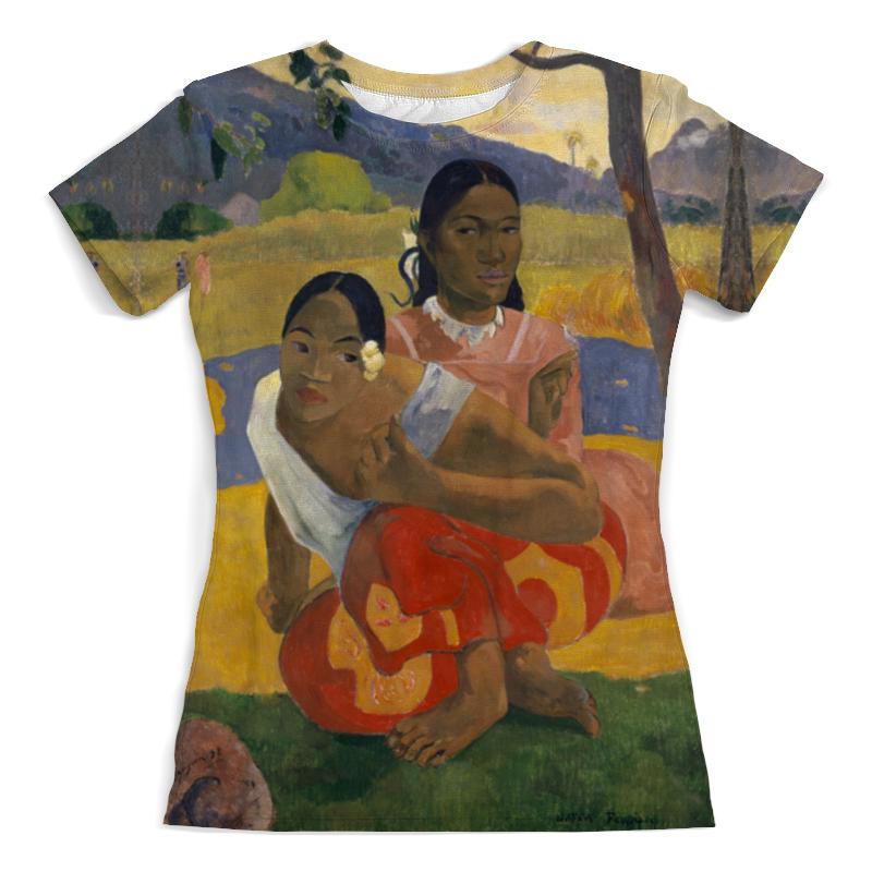 Printio Футболка с полной запечаткой (женская) Когда свадьба? (поль гоген) printio футболка с полной запечаткой мужская таити таити