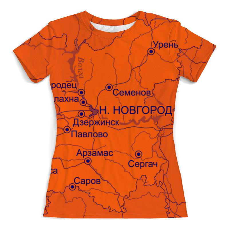 Printio Футболка с полной запечаткой (женская) Нижегородская область. нижний новгород