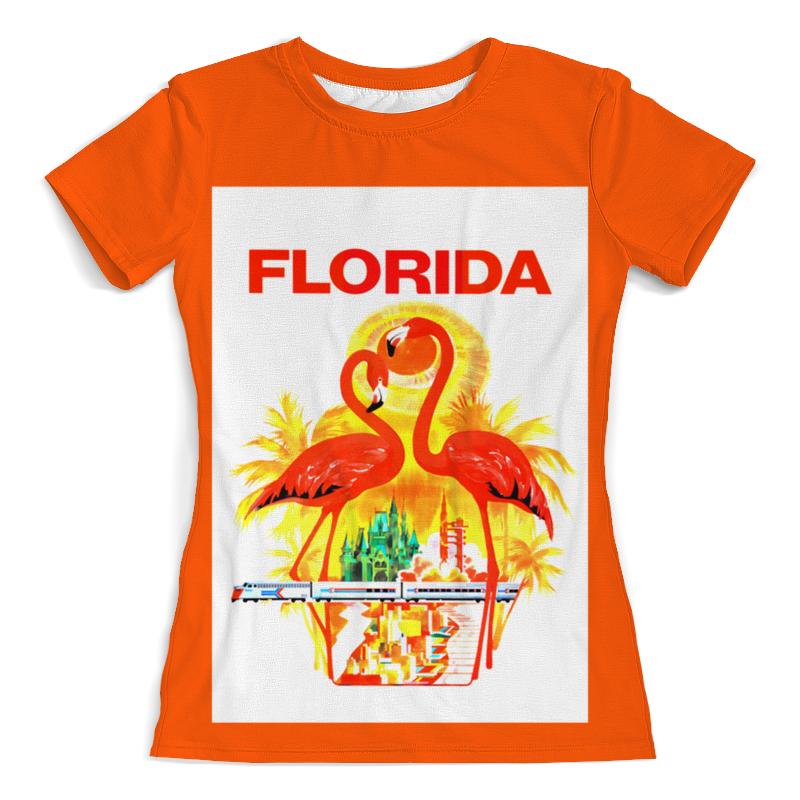 Printio Футболка с полной запечаткой (женская) Флорида
