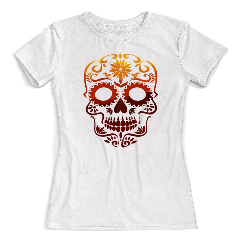 Printio Футболка с полной запечаткой (женская) Череп футболка с полной запечаткой женская printio череп хищник