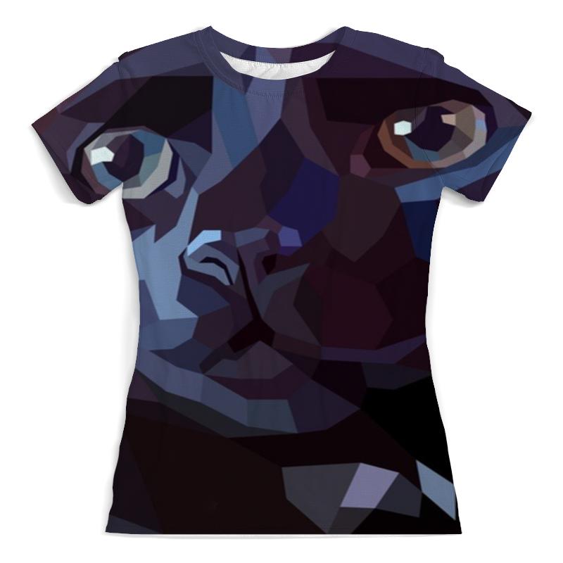 Фото - Printio Футболка с полной запечаткой (женская) Чёрная кошка printio футболка с полной запечаткой женская девушка кошка