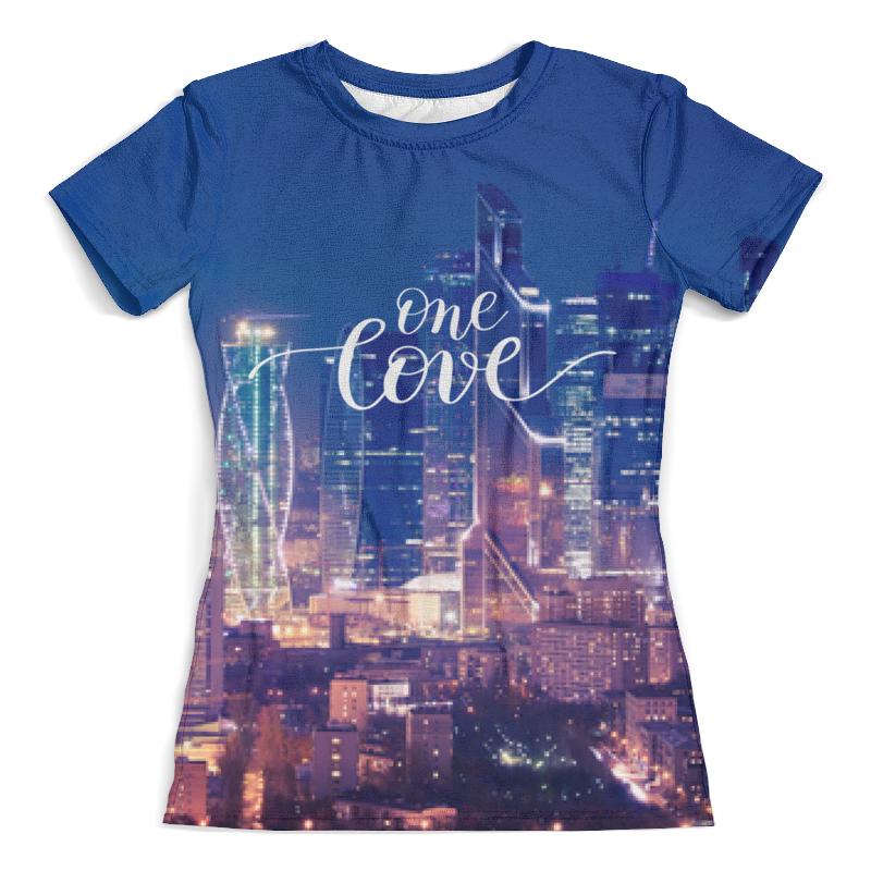 Printio Футболка с полной запечаткой (женская) Moscow one love printio футболка с полной запечаткой женская love love