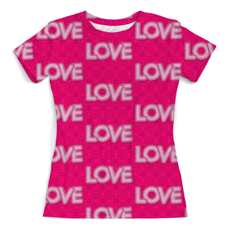 Printio Футболка с полной запечаткой (женская) Love love printio футболка с полной запечаткой женская love love