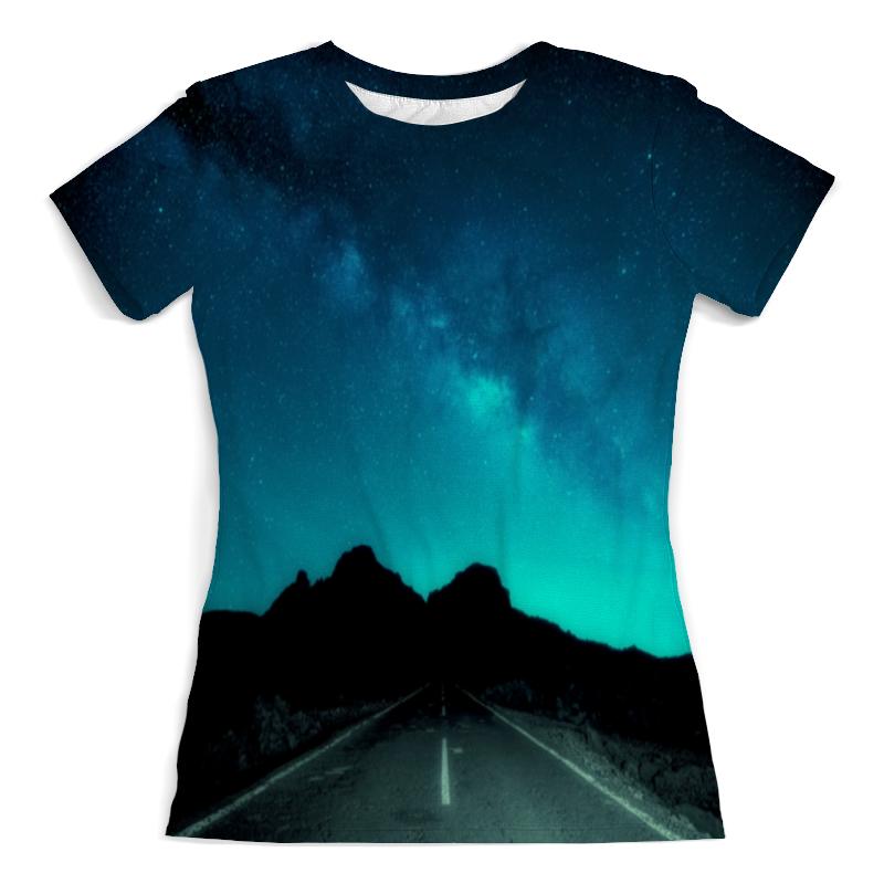 printio футболка с полной запечаткой мужская дорога Printio Футболка с полной запечаткой (женская) Ночная дорога