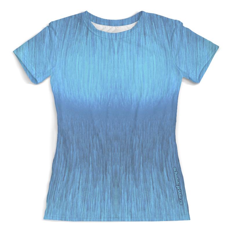 Printio Футболка с полной запечаткой (женская) Дизайн футболки, увеличивающей грудь