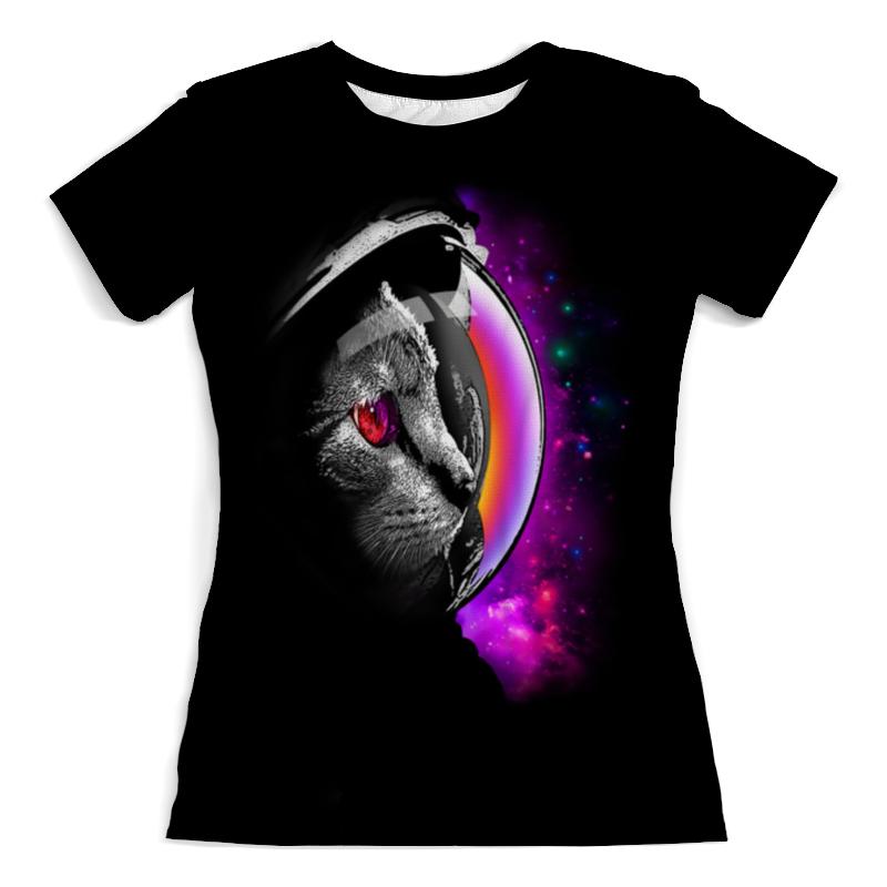 Printio Футболка с полной запечаткой (женская) Infinity cat женская футболка 2015 cat 3d t 1983