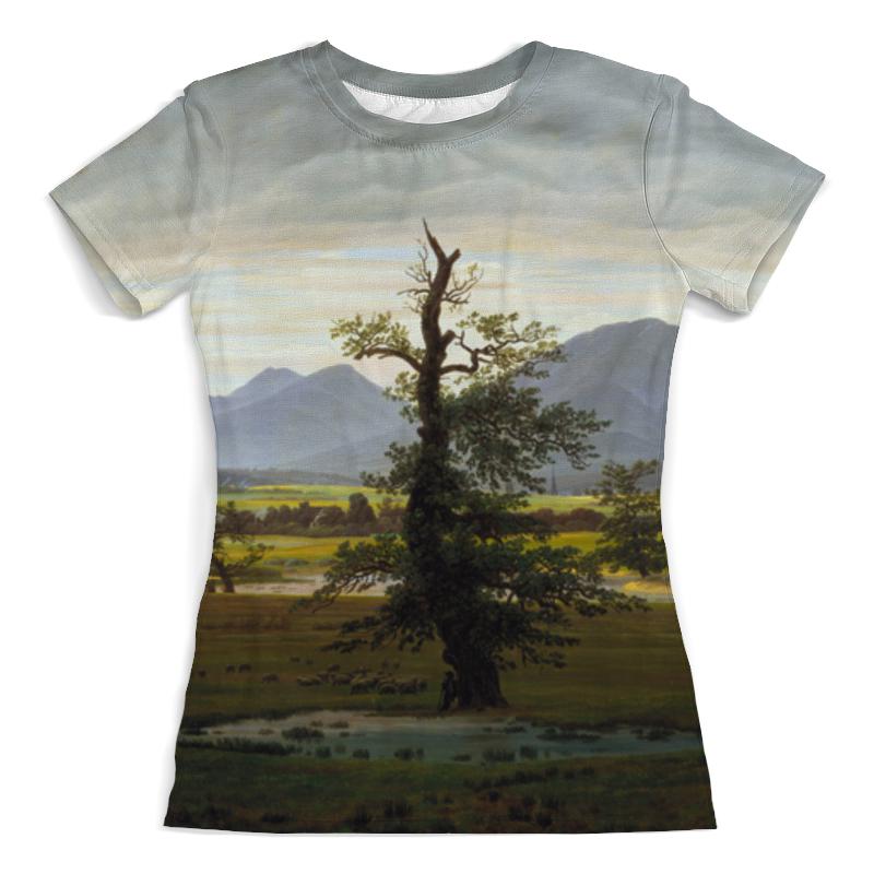 Printio Футболка с полной запечаткой (женская) Одинокое дерево (каспар давид фридрих)