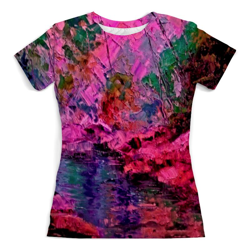 Printio Футболка с полной запечаткой (женская) Краски лета