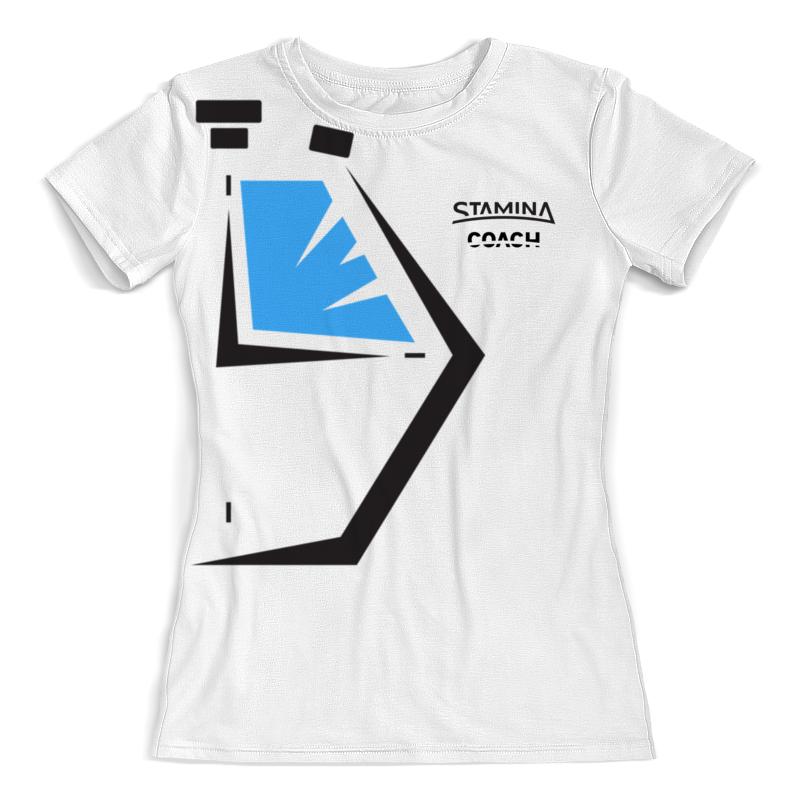 Фото - Printio Футболка с полной запечаткой (женская) Тренерская женская printio футболка с полной запечаткой женская master and margarita