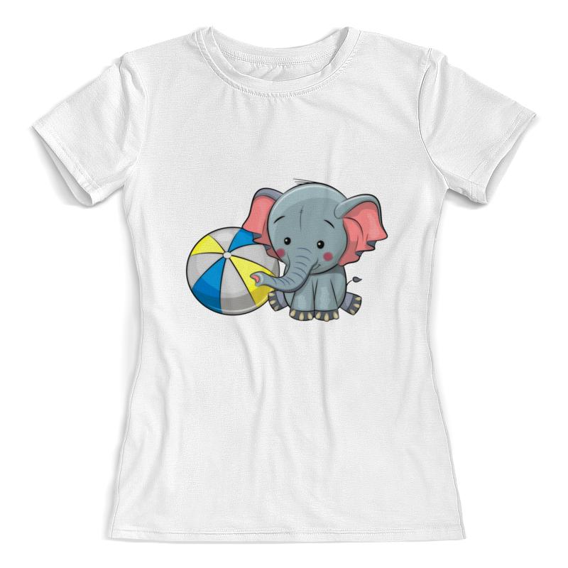 Фото - Printio Футболка с полной запечаткой (женская) Слоник printio футболка с полной запечаткой для девочек слоник