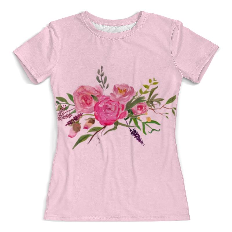 Фото - Printio Футболка с полной запечаткой (женская) Футболка розовые цветы printio футболка с полной запечаткой женская кашмир