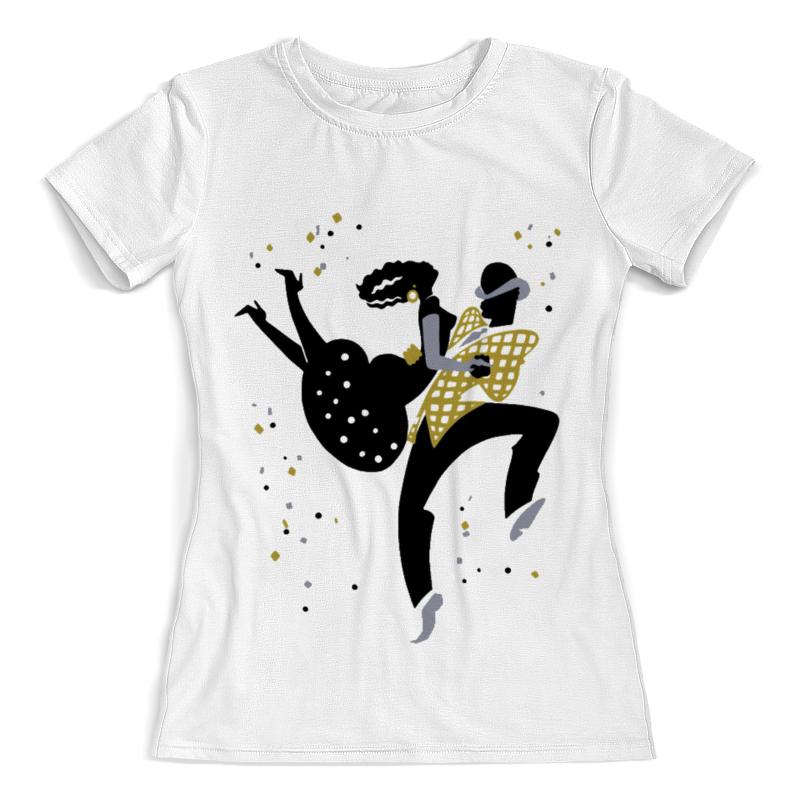 Printio Футболка с полной запечаткой (женская) Танцы. боп