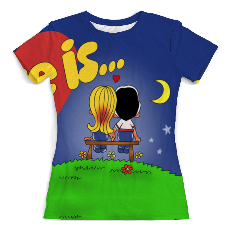 Printio Футболка с полной запечаткой (женская) Love is... printio футболка с полной запечаткой женская love love