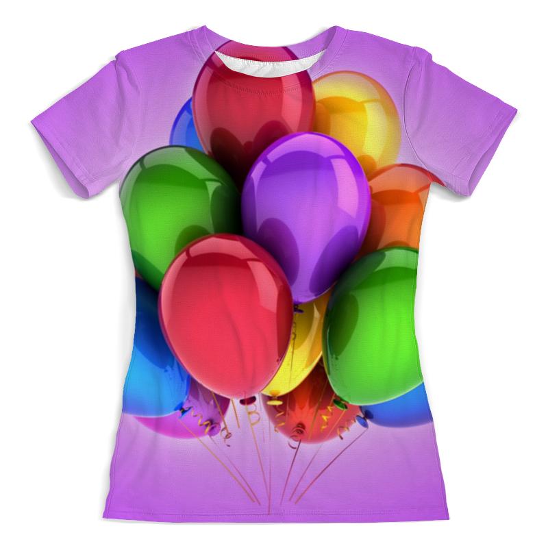 Printio Футболка с полной запечаткой (женская) Воздушные шары